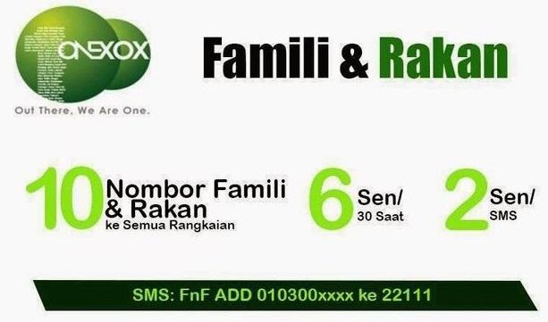 famili-dan-rakan-one-xox