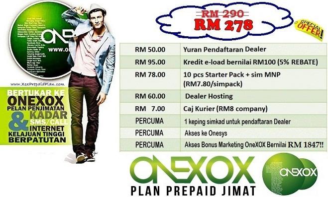Pakej-dealer-ONE-XOX-RM278