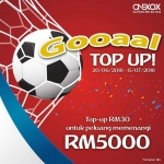 GOOAAL Top-Up ONEXOX